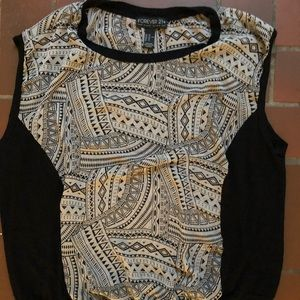 Tops - Size 2x forever 21 sleeveless top